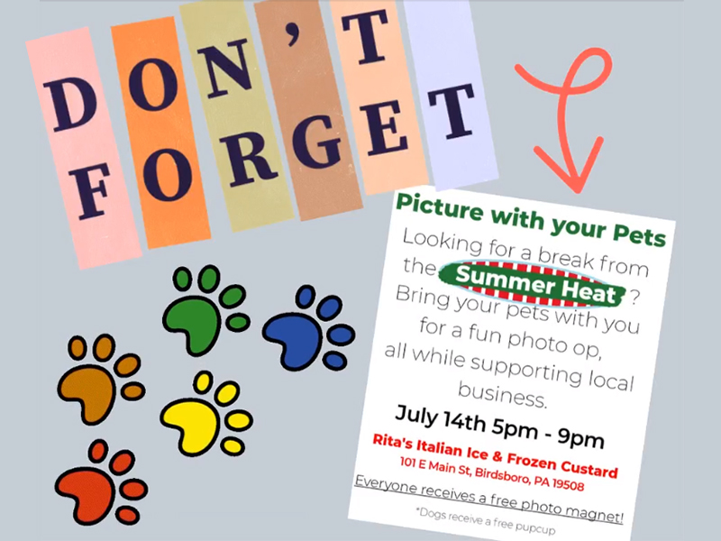 MCC Pictures WIth Your Pets Night