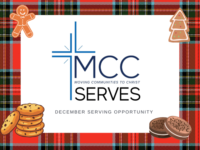 MCC Christmas Cookie Serve Opportunity