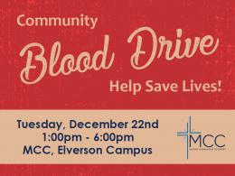 MCC Community Blood Drive