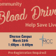MCC Community Blood Drive March 2021