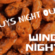 MCC Men's Wing Night
