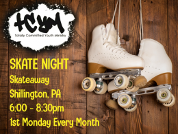 TCYM Monthly skate Night
